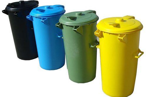انواع سطل زباله پلاستیکی آشپزخانه